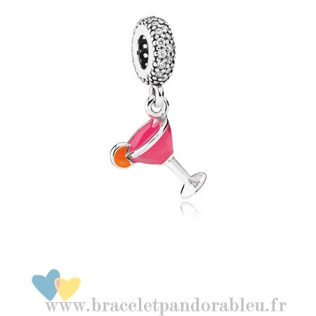 Bon Achat Pandora Pandora Passions Charms Chic Glamour Fruite Cocktail Charm Mixed Email Clear Cz