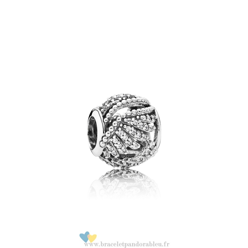 Bon Achat Pandora Pandora Passions Charms Chic Glamour Majestic Plumes Clear Cz