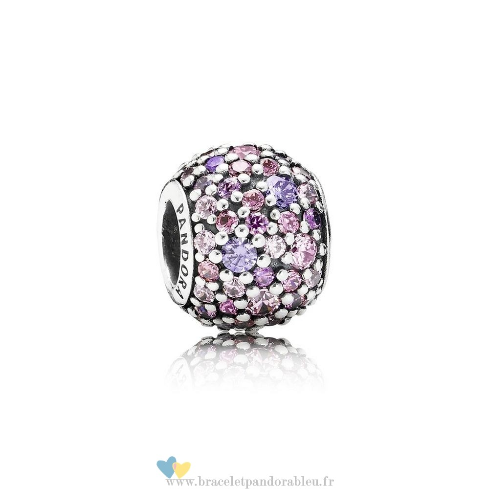 Bon Achat Pandora Pandora Toucher De Couleur Charms Pave Lumieres Charme Multi Colour Cz