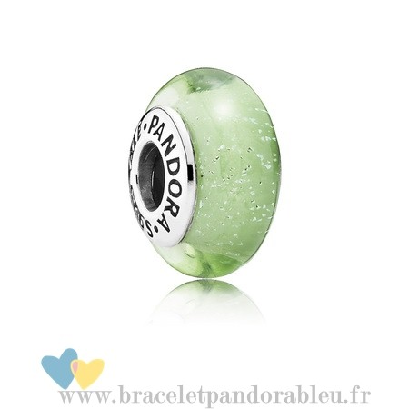 Bon Achat Pandora Disney Tinker Bell'S Signeature Color Charm Murano Verre