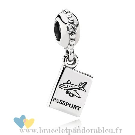 Bon Achat Pandora Pandora Vacances Charms De Voyage Aventure Awaits Dangle Charm Clear Cz