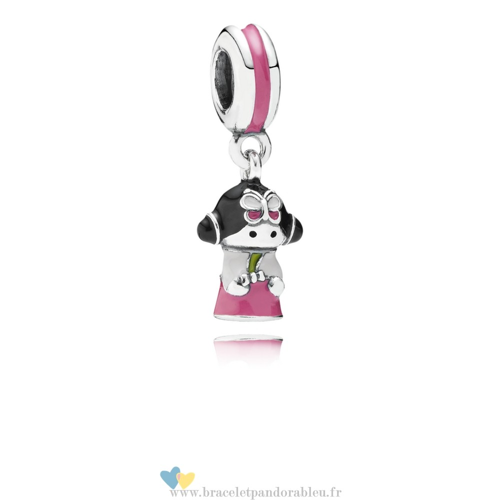 Bon Achat Pandora Pandora Vacances Charms De Voyage Coreen Doll Dangle Charm Mixed Enamel
