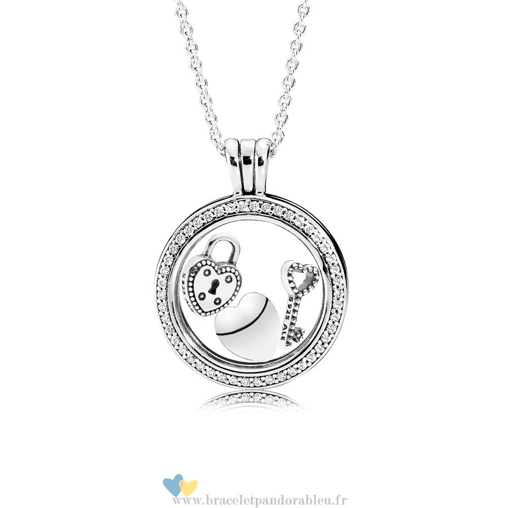 Bon Achat Pandora Sparkling Love Locket Gift Set