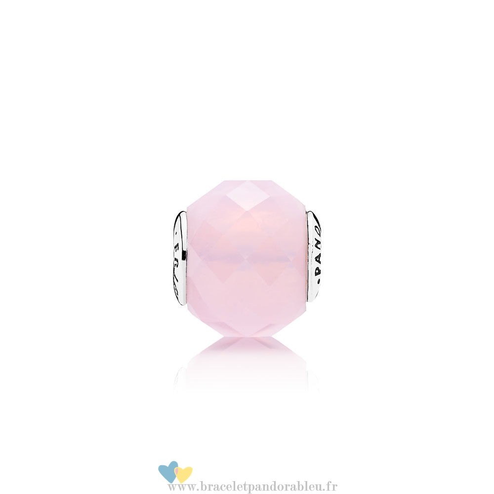 Bon Achat Pandora Essence Relation Amicale Charm Opalescent Rose Crystal