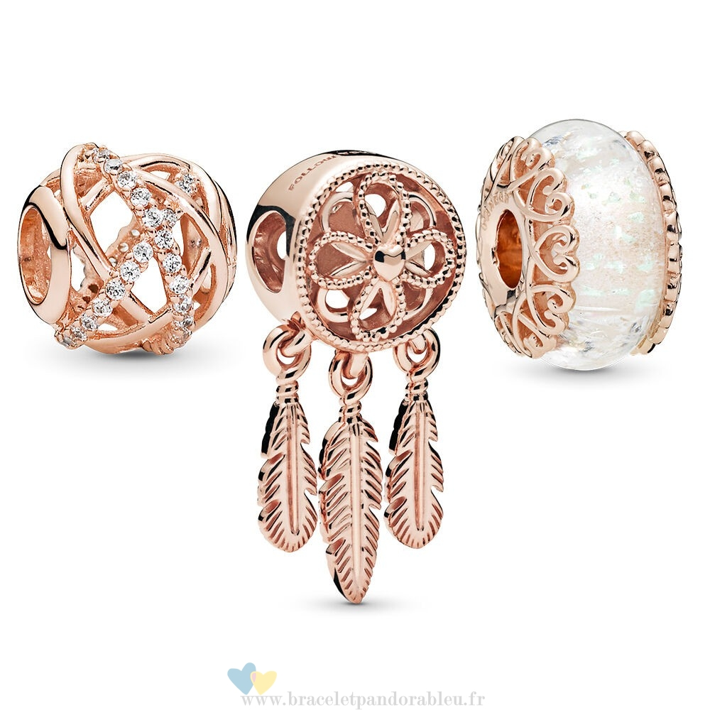 Bon Achat Pandora Pandora Rose Sparkling Dream Catcher Charm Pack